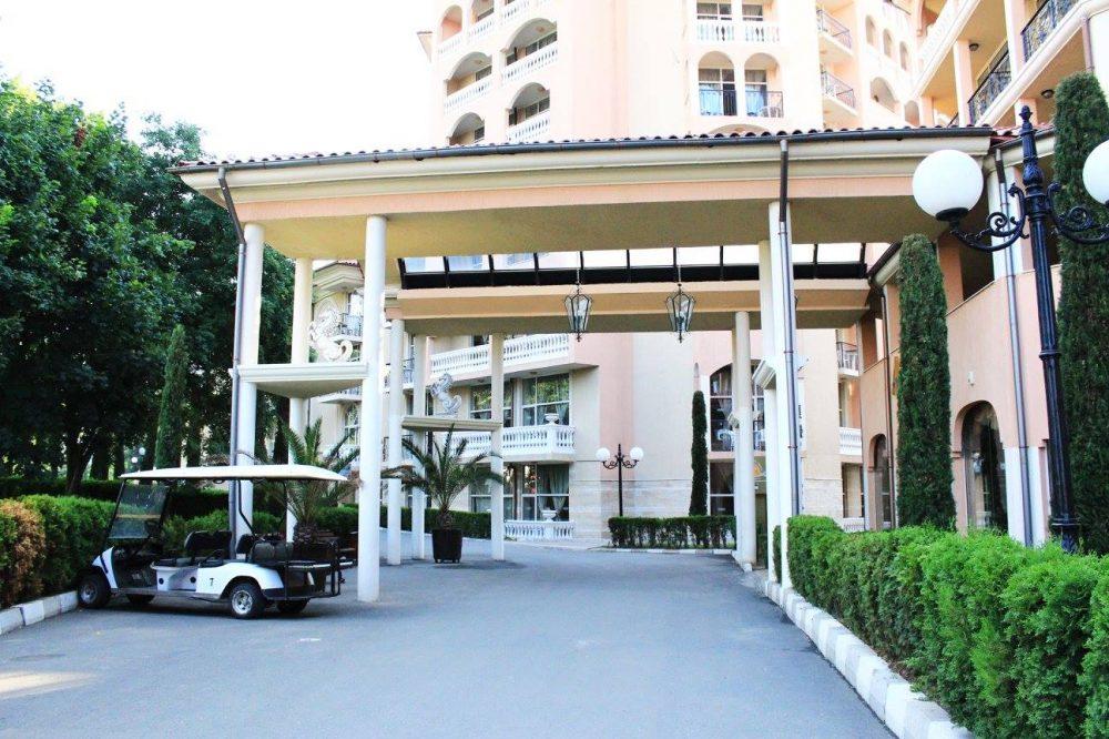 Хотел Андалусия Вход