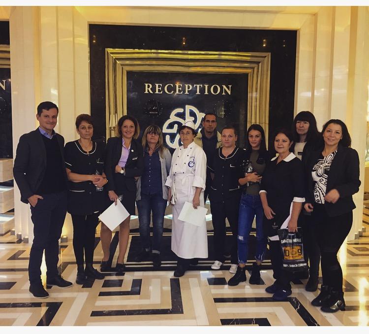 Обучение за нови служители за хотел Маринела