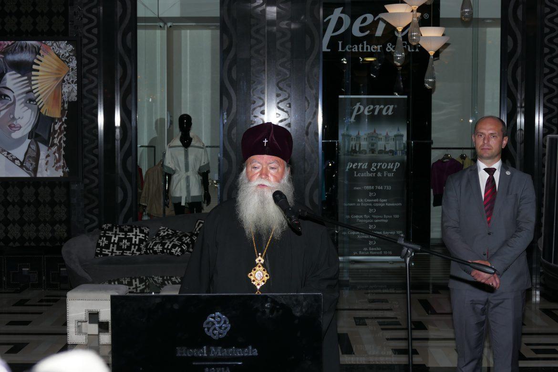 """Премиерът Бойко Борисов купи картина от благотворителната изложба на Светия Синод и Сдружение """"Маринела"""" """"Деца рисуват за деца"""""""