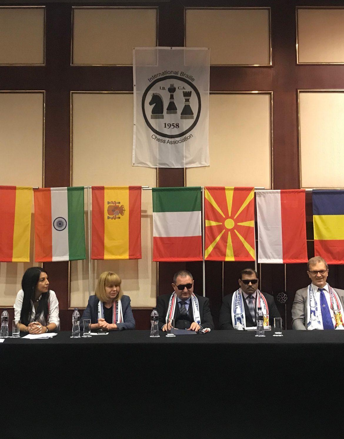 Финалът на VIII-то световно отборно първенство по шахмат за незрящи и слабовиждащи се проведе в хотел Маринела