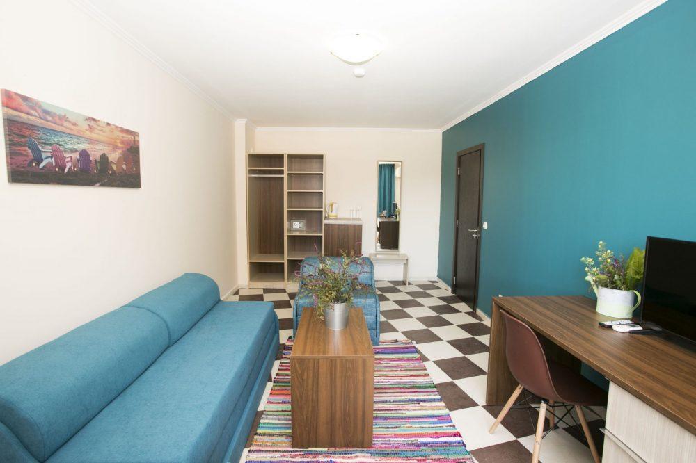 Двуспален апартамент | Хотел Хасиенда Бийч Созопол