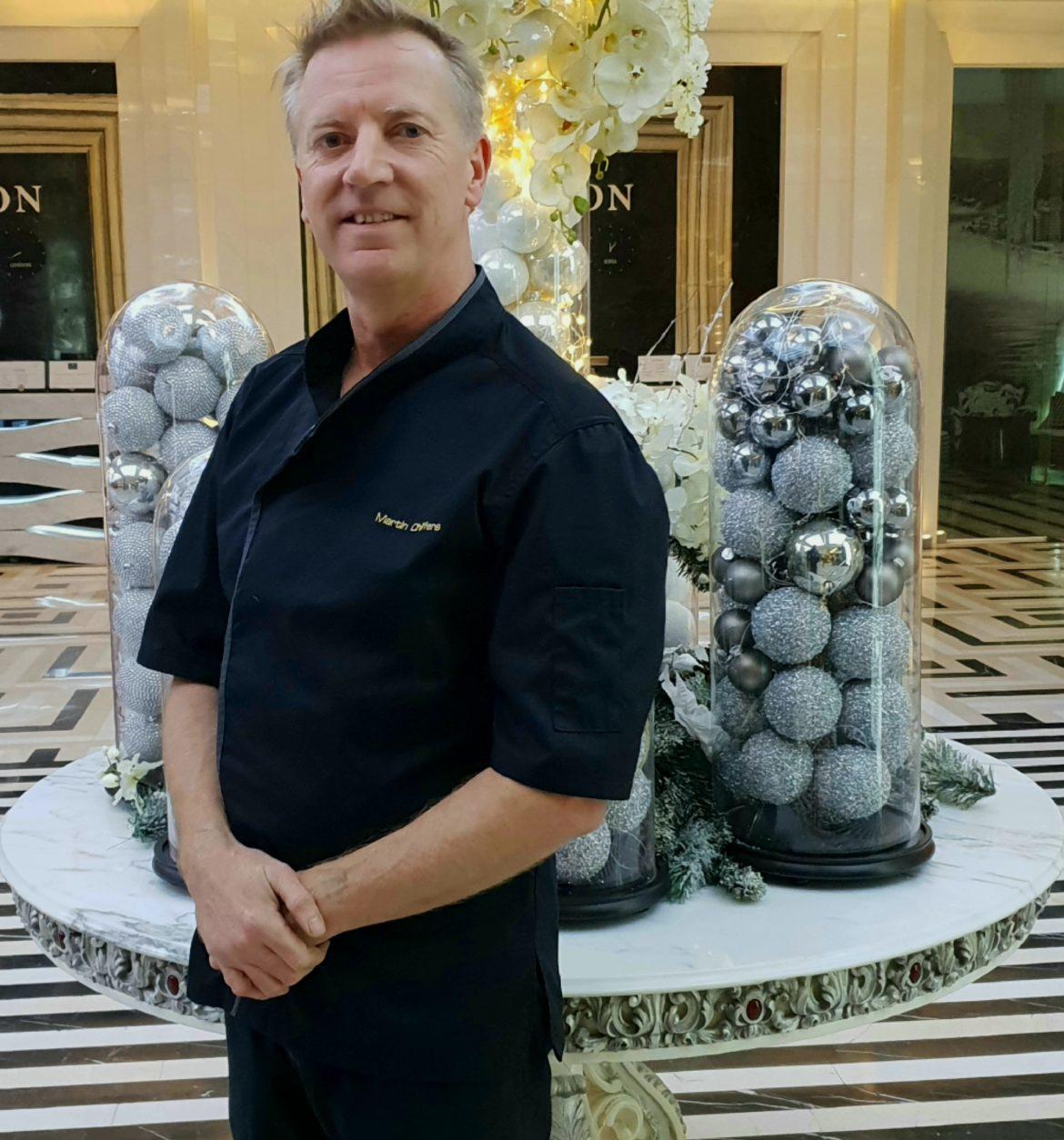 Мартин Шифърс – шоколатиер номер едно гост на хотел Marinela Sofia