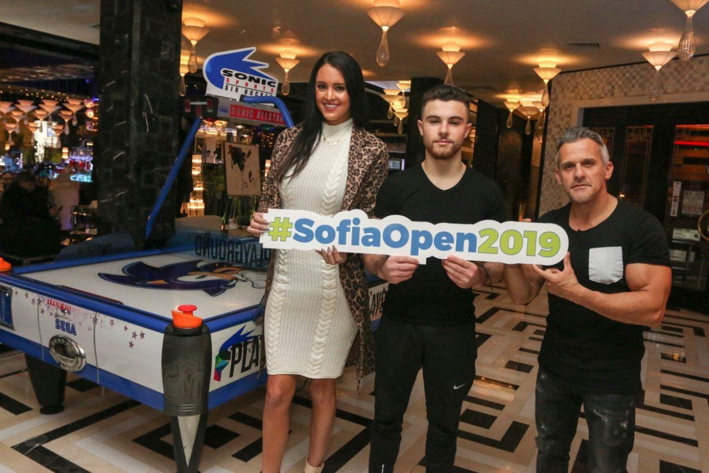 Sofia Open Рейчъл Стълман и Йордан Йовчев в хотел Marinela Sofia