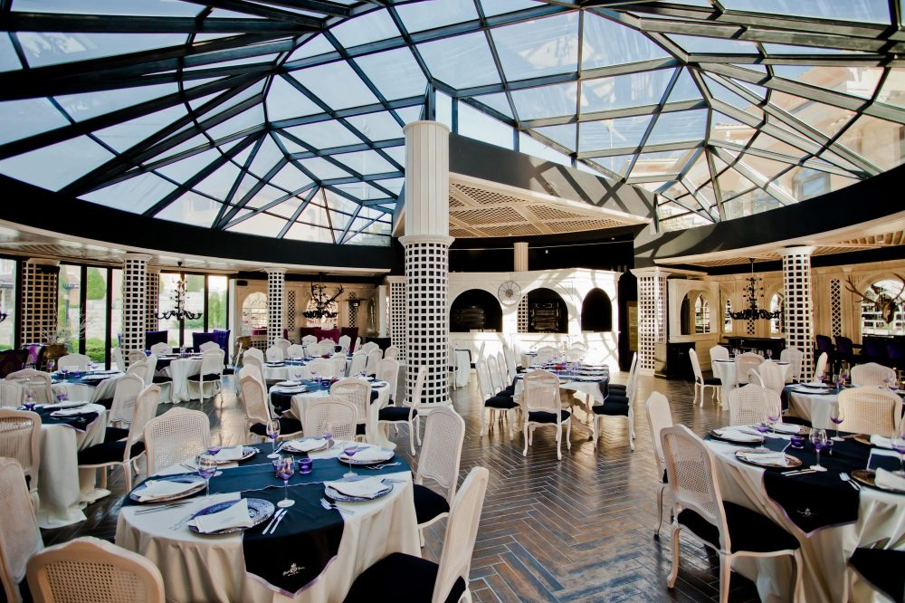 Restaurant Rotonda Hotel Royal Castle